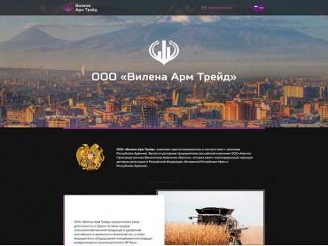 Редизайн сайта vilena-at.com