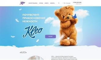 """Создание интернет-магазина для бренда """"Kleo"""""""