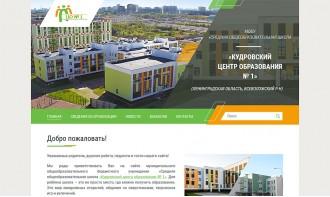 Создание сайта для общеобразовательной школы