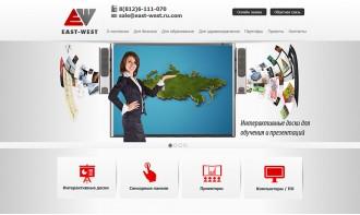 Создание бизнес-сайта по продаже интерактивных досок