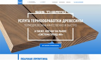 "Создание бизнес-сайта для компании ""SGS Thermo"""